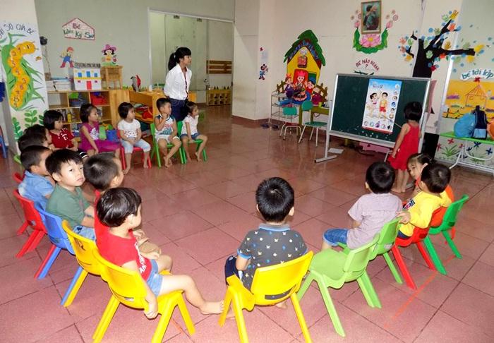 Lớp học trung cấp mầm non tại Vinh, Nghệ An